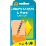 School Zone Colours, Shapes and More Flash Cards (new cover)