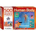 HINKLER JIGSAW PUZZLE HUMAN BODY 500PCS