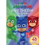 PJ MASKS SAVE THE DAY COLOURING BOOK
