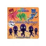 FIVE LITTLE NINJALINOS (PJ MASKS)