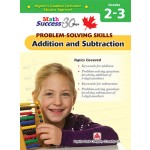 Grade 2 -3 Math Success Problem-solving Skills: Additional And Subtraction