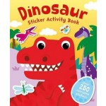 P-DINOSAUR STICKER ACTIVITY BOOK