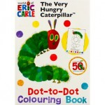 VERY HUNGRY CATEPILLAR DOT TO DOT COLOURING BOOK
