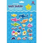 BABY SHARK PUFFY STICKER SET