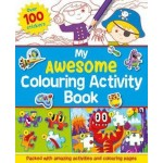 P-MY AWESOME COLOURING ACTIVITY BOOK