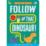 P-Follow That Dinosaur! (Trace the Trails)