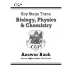 KS3 Science Answers for Workbooks (Bio/Chem/Phys) - Higher Level