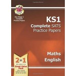 KS1 COMP' SATS PRAC PAPERS MATHS&ENG '17