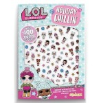 LOL SURPRISE! PUFFY STICKERS (HOLIDAY CHILLIN')