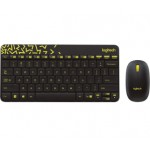 LOGITECH MK240 NANO KEYBOARD & MOUSE WIRELESS COMBO BLACK