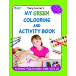 P-COLOURING & ACTIVITY BOOK:GREEN