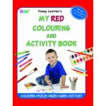 P-COLOURING & ACTIVITY BOOK:RED