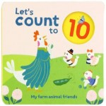 P-LET'S COUNT TO 10:FARM ANIMAL FRIENDS