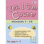 Yes, I Can Count Numbers 1-10