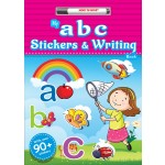 MY abc STICKERS & WRITING BOOK