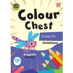 COLOUR CHEST:INSECTS(DWIBAHASA)