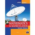 Semester 1 Mathematics (Science) For Matriculation