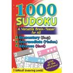 1000 SUDOKU: (RED) A VERSATILE BRAIN