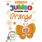 COPY 'N' COLOUR JUMBO COL BK-ORANGE