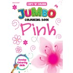 COPY 'N' COLOUR JUMBO COL BK-PINK