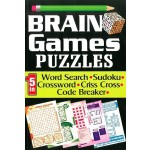 BRAIN GAMES PUZZLES (5 IN 1)