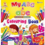 FOX SERIES - MY ABC CAPITAL & SMALL LETTER COLOURING BOOK