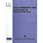 AKTA KOPERASI 1993 (AKTA 502)