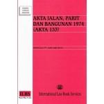 AKTA JALAN, PARIT DAN BANGUNAN 1974 (AKTA 133)