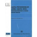 AKTA PENDIDIKAN 1996 (AKTA 550)
