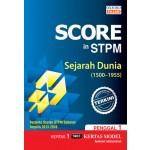 Penggal 1 Score in STPM Sejarah Dunia