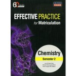 Semester 2 Effective Practice for Matriculation Chemistry