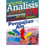 Penggal 1 STPM Analisis Bertopik 2013-2018 Pengajian Am