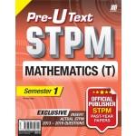 Penggal 1 STPM Teks Pra-U Mathematics T