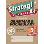 Tahun 5 Strategi Kendiri A+ English Grammar & Vocabulary