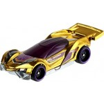 5 x Hot Wheels Basic Car with 1 FYH09 2019 Limited Edition Golden Car