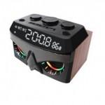 VINNFIER NEO AIR 3 BLUETOOTH ALARM CLOCK RADIO SPEAKER CLASSIC OAK