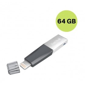 SANDISK 64GB IXPAND MINI FLASH DRIVE