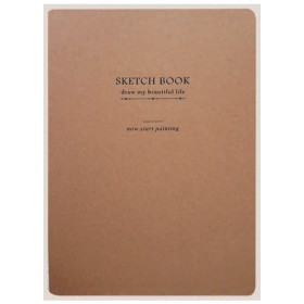 ECOMAZ SKETCH BOOK A4 100GSM 128 SHEETS