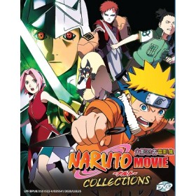 NARUTO MOVIE COLLECTIONS 火影忍者电影集 (4DVD)