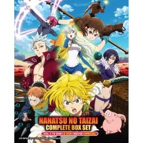 NANATSU NO TAIZAI COMPLETE BOX SET VOL.1-76 END+2 OVA+SPECIAL(7DVD)