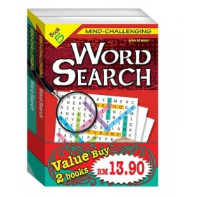 MIND CHALLENGING WORD SEARCH - BUNDLE 3