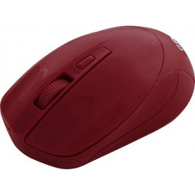CLIPTEC RZS858 VELOCITY WIRELESS MOUSE - MAROON