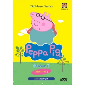 PEPPA PIG SEASON 5 EP1-13 (DVD)