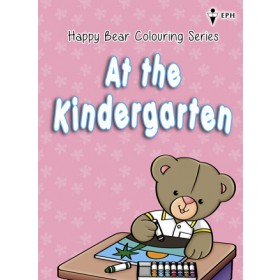 Happy Bear Colouring Series - At the Kindergarten