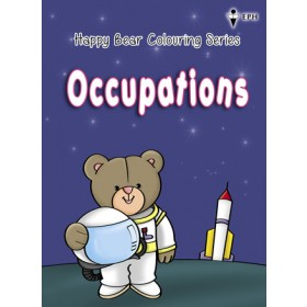 Happy Bear Colouring Series - Occupations