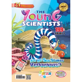 THE YOUNG SCIENTISTS LEVEL 1 ISSUE 199