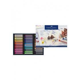 Faber-Castell Creative Studio Soft Pastel Full Length - 36 Colours