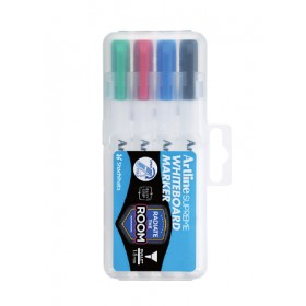 ARTLINE Supreme EPF-507-4PW1 White Board Marker In Pack of 4 Pieces