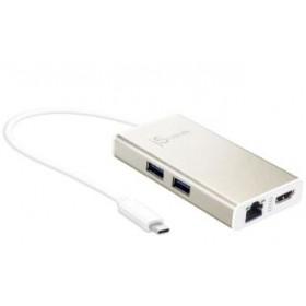 J5CREATE JCA374 USB-C MULTI-ADAPTER HUB