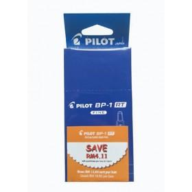 Pilot BP-1RT Ball Pen Fine Blue in Dozen Pack (12 pieces)